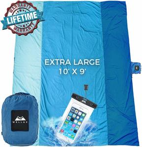 1. Extra Large Picnic Blanket Water-Resistant Outdoor Mat