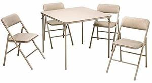 11. Cosco Folding Table and 5-piece Chairs Set