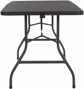 2. Cosco Deluxe Fold-in-Half Blow Folding Table