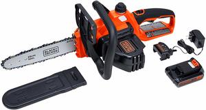 3. BLACK+DECKER 20V MAX Cordless Chainsaw, (LCS1020)
