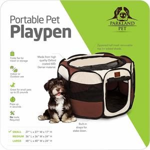 3. Parkland Pet Portable Foldable Playpen