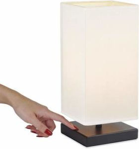 3. Revel Lucerne 13-Inch LED Modern Touch Table Lamp, for Bedroom