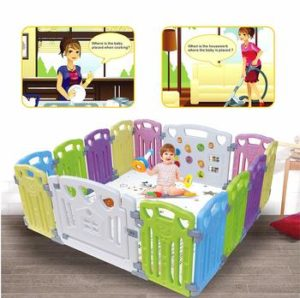 4 Baby Playpen Activity Centre