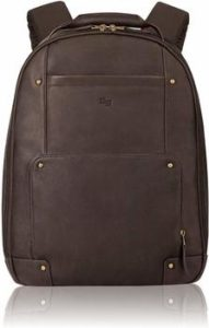4 Solo Reade Vintage Leather Backpack