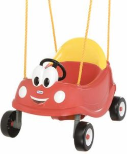 5. Little Tikes Cozy Coupe baby First Swing