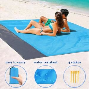 6. 1byhome Beach Blankets for Outdoor Beach Picnic