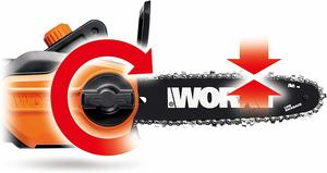 6. WORX WG309 2-in-1 Electric Pole Saw