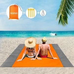 7. SOPHO Outdoor Beach Blankets Waterproof Picnic Beach Blankets