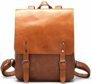 8 LXY Vegan Leather Backpack