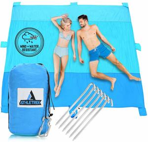 8. Extra Large Beach Blanket by Athletrek