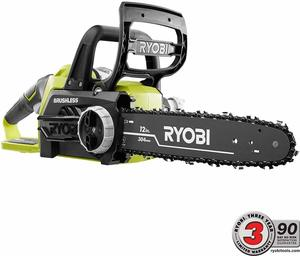 8. Ryobi ONE+ 12 in. 18-Volt Electric Cordless Chainsaw