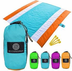 9. ECCOSOPHY Beach Blankets Sand Proof