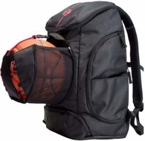 9. Kuangmi Basketball Backpack Pocket Ball All Sports Travel Gym