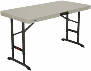 9. Lifetime Products 80387 4-Foot Folding Table
