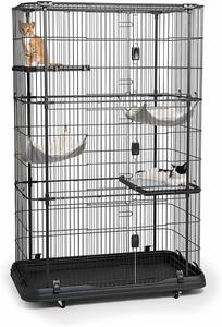 9. Prevue Pet Products Deluxe Cat Home