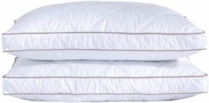 1. Puredown® Natural Goose down Feather Sleeping Pillows