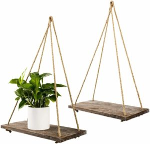 #10 TIMEYARD Decorative Wall Hanging Shelf