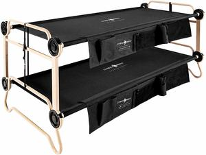 10. Disc-O-Bed with Organizers, Black
