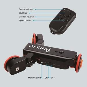 2. Annsm Pro 3-Wheels Wireless Camera Auto Motorized Dolly