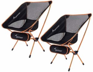 #2. Sportneer Camping Chairs, Ultralight Folding Portable Chair ,Heavy