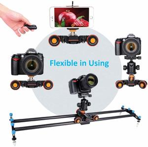 3. ANNSM Upgraded 3-Wheels Heavy Duty Motorized Camera Dolly