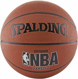 3. Spalding NBA Varsity Outdoor Rubber Basketball