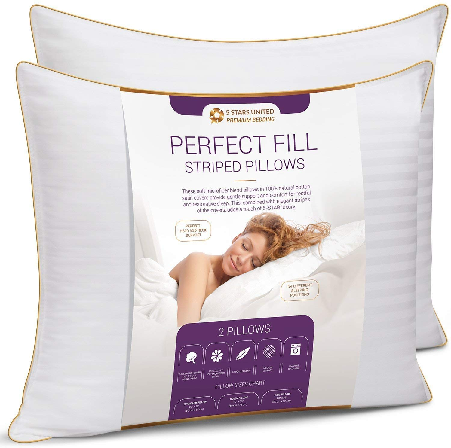 Top 10 Best King Size Pillows in 2020 Reviews