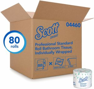 #4. Scott Essential Professional Toilet Paper for Business Bulk (60)