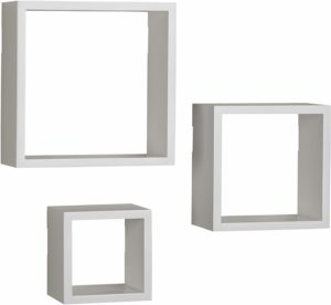#5 Melannco Floating Square Cube Shelves