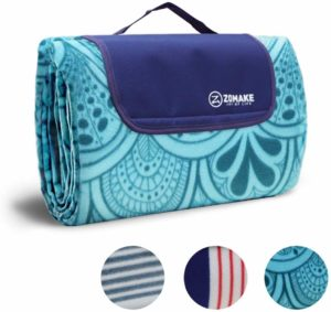 #5. ZOMAKE Extra Large Picnic Outdoor Blanket, Waterproof,