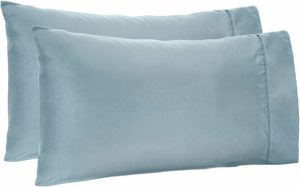 6. AmazonBasics Light-Weight King Size, Microfiber Pillowcases