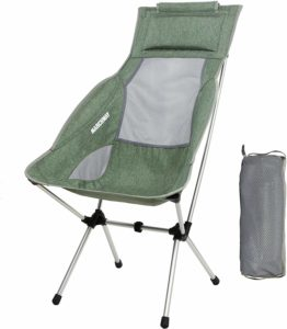 #6. MARCHWAY Lightweight Folding Portable High Back Chair