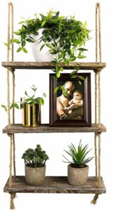 #7 TIMEYARD Decorative Wall Hanging Shelf