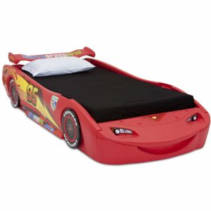 7. DisneyPixar Cars Lightning McQueen Twin Bed