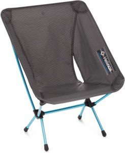 7. Helinox Chair Zero Ultralight Portable Compact Camping Chair