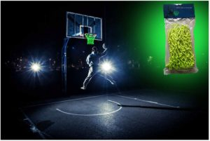 #8 MCNICK & COMPANY Outdoor Glow in The Dark Basketball Net