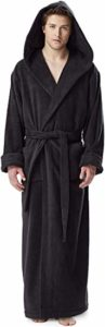 #8. Arus Men's Hood'n Full Ankle Length Hooded Turkish Cotton