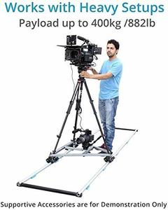 8. PROAIM Portable 12ft Straight Professional Aluminium Tripod Dolly