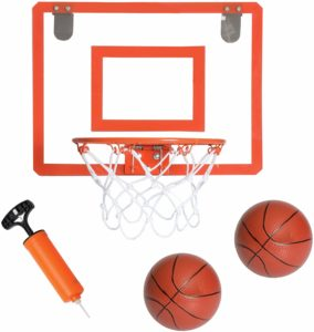 #8. Play Platoon Mini 16 x 12 Inch Basketball Hoop for Bedroom, Office, For Indoors