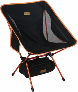 8. Trekology YIZI GO Portable Camping Chair - Compact Ultralight