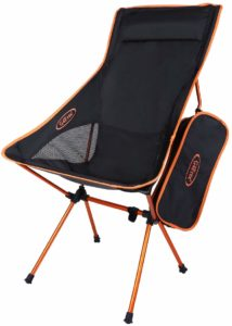#9. G4Free Upgraded Lightweight Camping Outdoor Chair, Folding