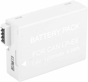 9. Vbestlife LP-E8 Fully Decoded Camera Battery