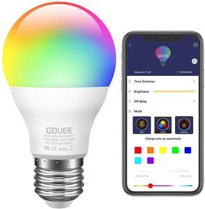 1. Govee LED Dimmable RGB Color Changing Light Bulb