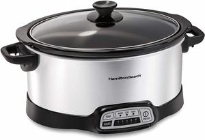 1. Hamilton Beach 7-Quart Programmable Slow Cooker