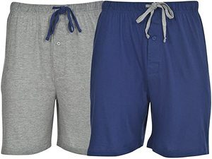 1. Hanes Men's 2-Pack Cotton Knit Short