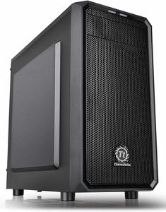 #1. Thermaltake Versa H15 Micro ATX Mini Case for Computer SPCC