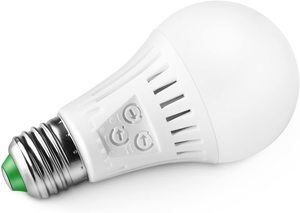 10. Elrigs Motion Sensor Light Bulb with Dusk to Dawn