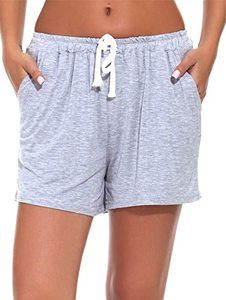 10. WOAIVOOU 1&2 Pieces Women Casual Sleep Shorts
