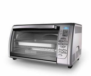 2. BLACK+DECKER Countertop Convection Toaster Oven