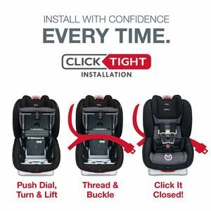 2. Britax Marathon ClickTight Convertible Car Seat